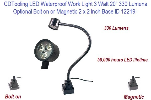 LED Waterproof Work Light 3 Watt 20