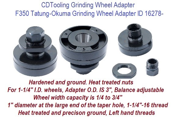 HHIP 2420-0350 F350 Grinding Wheel Adapter