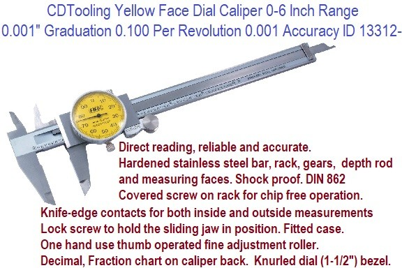 Dial Calipers New 6