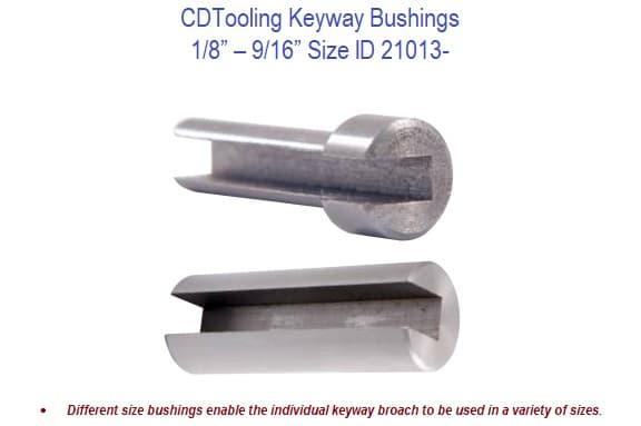 "1-1//2/"" Bushing for III Keyway Broaches"