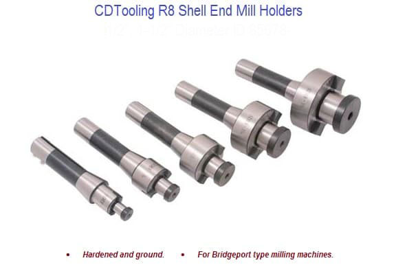 1-1/4 INCH R8 SHELL END MILL HOLDER - ID: 85678-3900-1714