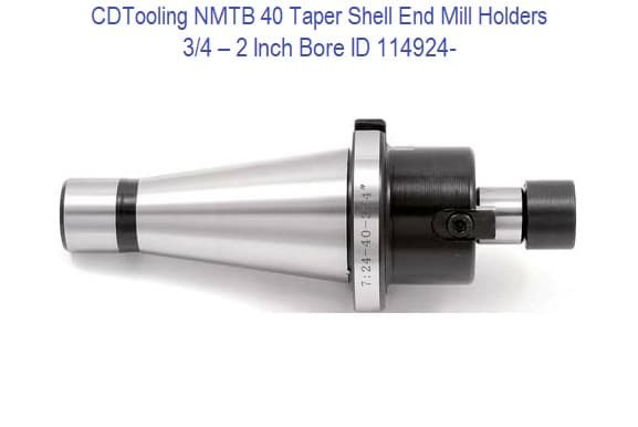 NMTB 30 Taper Shell End Mill Holders 3/4 - 2 Inch Bore ID 114924-