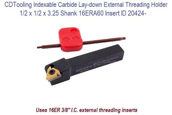 3//8 External Threading Tool Indexable SER0375E11