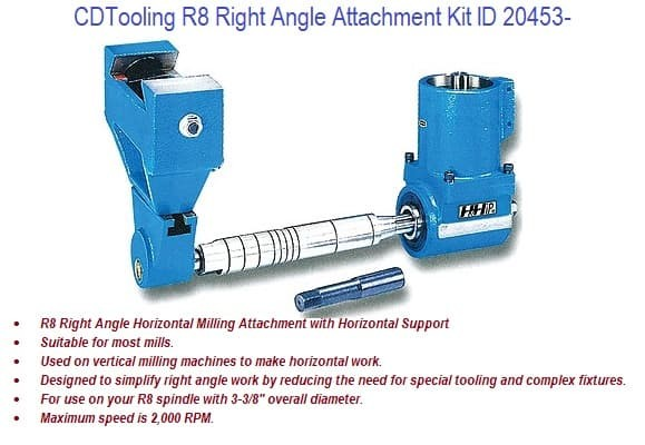 R8 Right Angle Attachment KIt ID 20453-