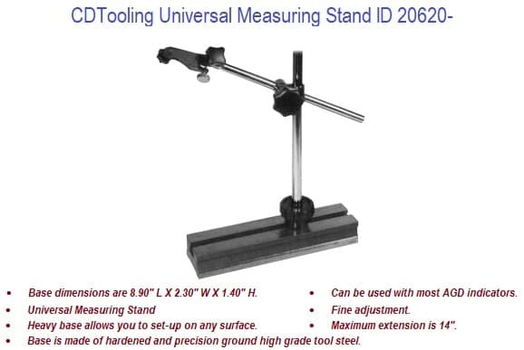 Universal Measuring Stand ID 20620-