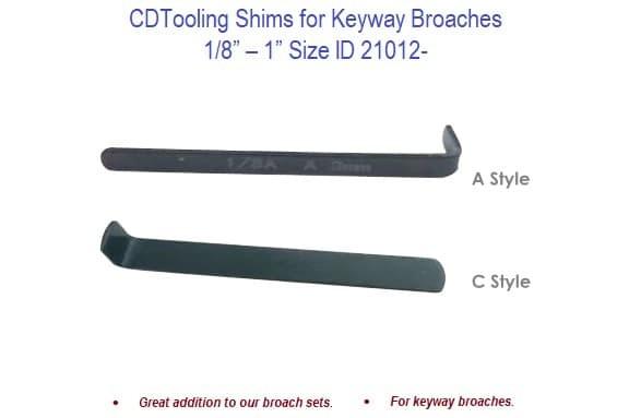 35mm-D Bushings for Metric Sized Broaches Diameter