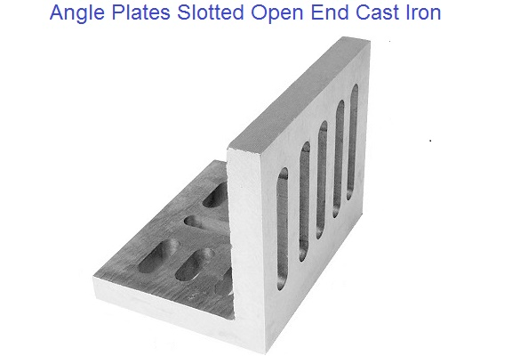 Angle Plates Slotted Open End Style Cast Iron 6 Quot To 12 Quot
