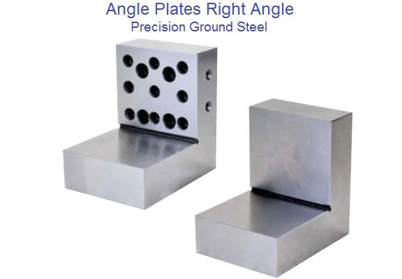"PRECISION GROUND RIGHT ANGLE PLATES 4 x 4 x 6/"""