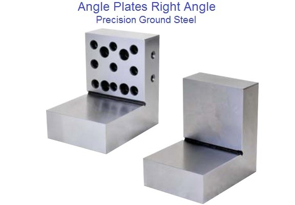 Angle plate Right Angle Steel, 4 x 4 x3 x 1-1/8, With Holes, No Holes