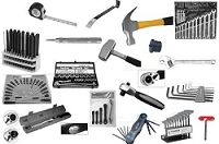 Hand Tools Punches Chisels Tape Rule Transfer Screws, Hammers, Wrenches Sockets Keys