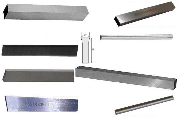 Tool Bits, Part, Cut off Blade HSS, Cobalt, Round Square Rectangular