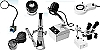 Microscopes, Magnifiers and Comparator Sets