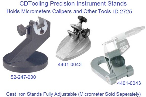 Precision Tool Stands for Micrometers , Verniers and more ID 2725
