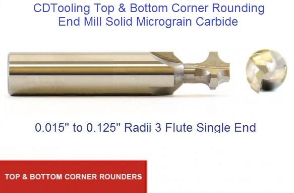 1//2 Shank Diameter 3 Length HSS General Purpose 5//32 Radius 3//4 Cutting Diameter KEO Milling 72954 Cobalt Corner Rounding End Mill Cutter End Mill Shank 4-Flute TiN Coating