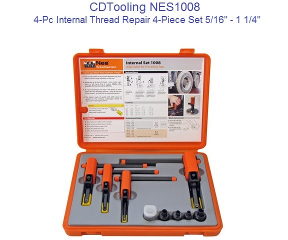 NES1008 Internal Thread Repair 4-Piece Set 5/16