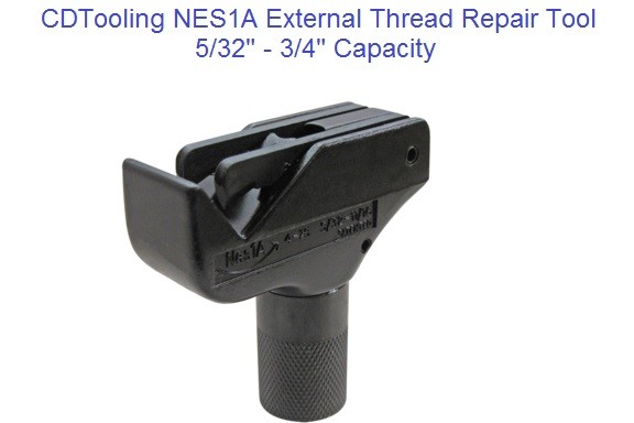 NES1A External Thread Repair Tool 5/32 to 3/4 Inch, M4-M18 Metric ID 2171-