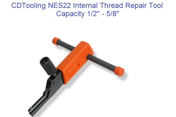NES22 Internal Thread Repair Tool 1/2 to 5/8 inch, M12 to M16 Metric ID 2174-