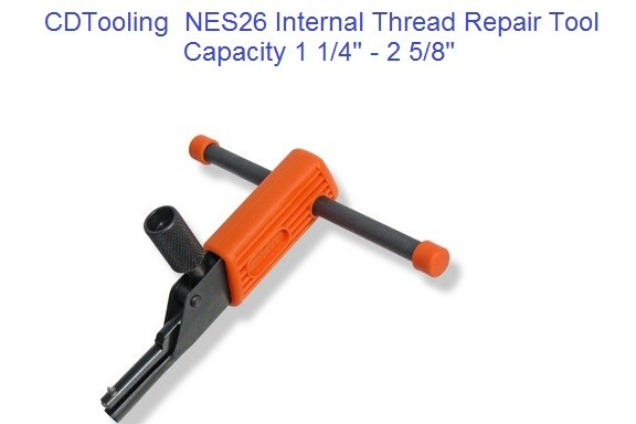 NES26 Internal Thread Repair Tool 1 1/4 to 2 5/8 Inch, M32 to M68 Metric ID 2178-