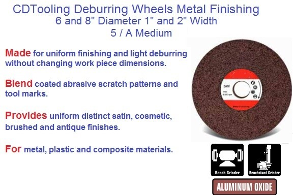 Surface Conditioning Wheels Metal Finishing 5 / A Medium, 6 and 8