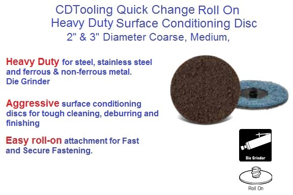 Surface Conditioning Heavy Duty Disc Roll On 2