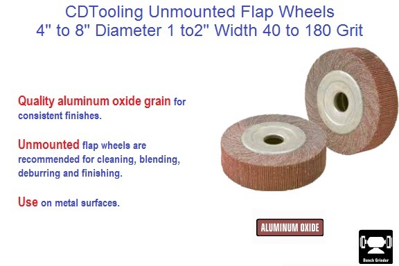 Abrasive Flap Wheels Unmounted 4