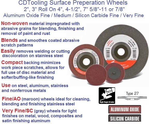 Surface Preparation Wheels 2