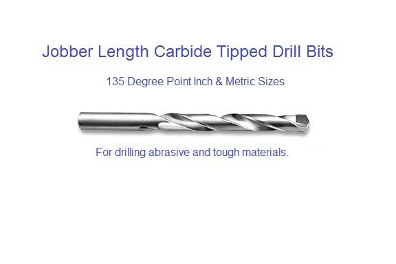 Jobber Length Drill Bit P 4-5//8 HSS 135 Deg