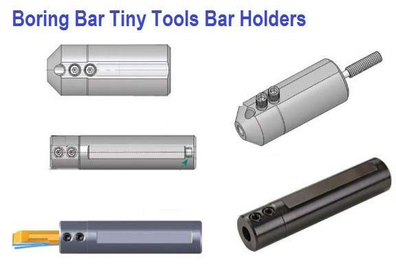 Boring Bar Holders SIM Tiny Tools Bar Holders with through Coolant MKR Full Radius ID 1035-