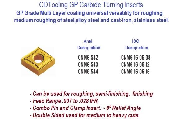 CNMG 542-MM 2035 Carbide Turning Insert Sandvik 10 Inserts
