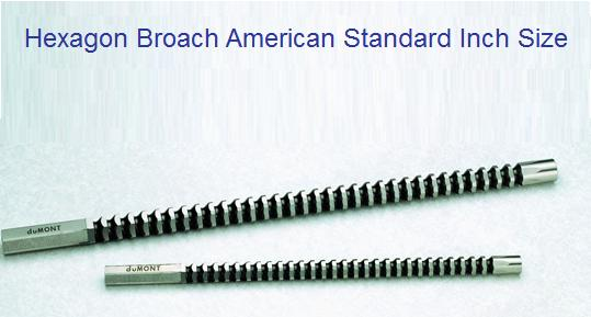 Rotary Broach,Hex,7//16
