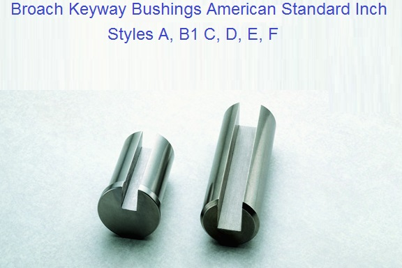 "1-3//4/"" Bushing for IV Keyway Broaches"