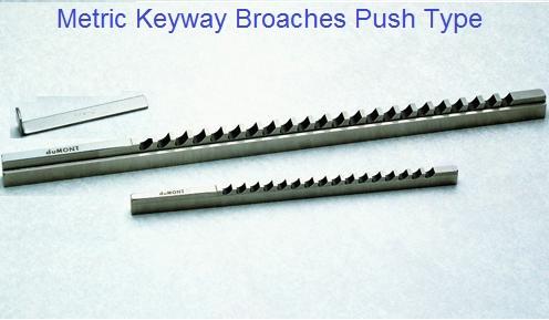 Metric USA 14mm-IV Keyway Broach