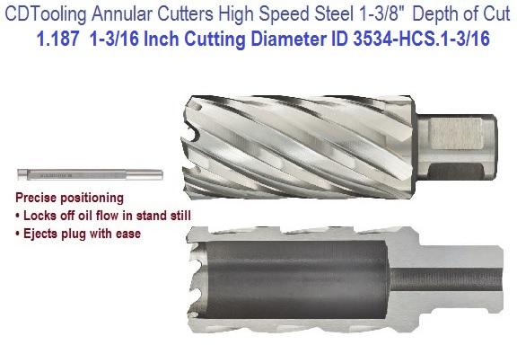 Single Cut Cylindrical Flat End 3//16 Head Diameter 5//8 Cutting Length Pack of 1 Drillco 7000B Series Magnum Solid Carbide Bur 1//4 Shank Diameter