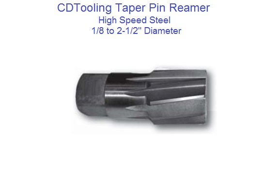 3//8 HIGH SPEED STEEL STRAIGHT FLUTE TAPER PIPE REAMER