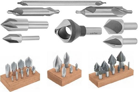 Combined Drill and Countersinks, Center Reamers, Machine Reamer.Countersinks High Speed Steel