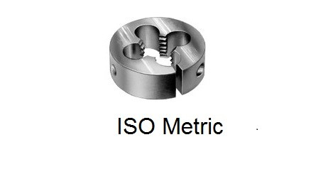 Dies: Round Split Button Threading Die ISO Metric Right