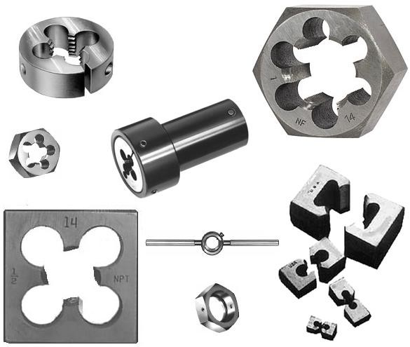 Die Threading Dies Round, Hex, Square Metric Inch Special Thread