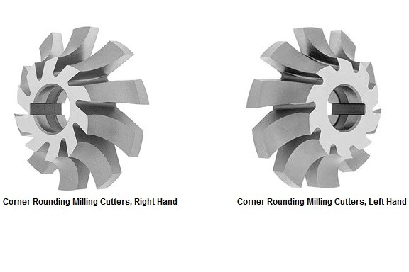 Milling Cutter Corner Rounding Milling Cutters, Radius Cutters ID 1004-