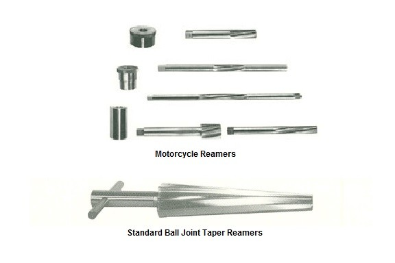 Standard Ball Joint Taper and Motorcycle Reamer