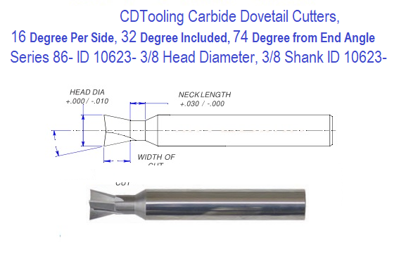 """1//4/"""" Diameter 30° Degree Included Angle Double End Carbide Engraving Tool USA"""