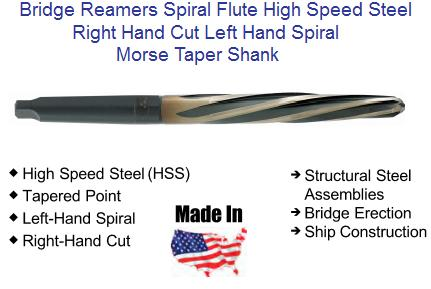 Alfa Tools HR74362 15//32 Hand Reamer Spiral Flute Straight Shank Square Drive Left Hand Helix
