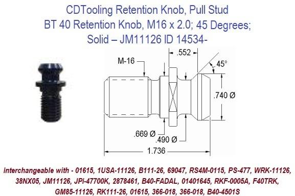 "5012020160 Clarkson 1//4/""  Slot Drill"