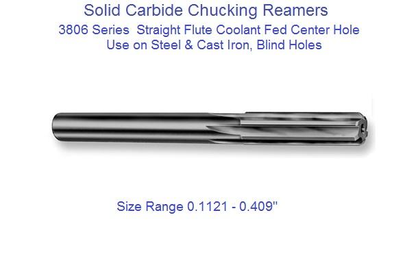 .3755 Solid Carbide Reamer