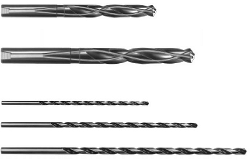 Drills: Twist Drill Extra Length HSS, Cobalt, Coolant Through Series 905
