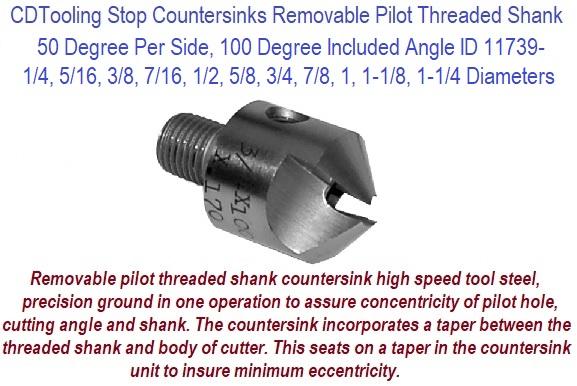 "J-1-8-6-1 5//16/"" SPLINE DRIVE COUNTERBORE W// 1//8/"" PILOT HOLE"