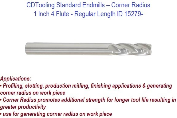 0.030 Corner Radius Roughing Cut 4 Flutes Melin Tool VXMG Carbide Corner Radius End Mill 2 Overall Length nACo Monolayer Finish Helix 0.3125 Shank Diameter Variable Helix 0.3125 Cutting Diameter