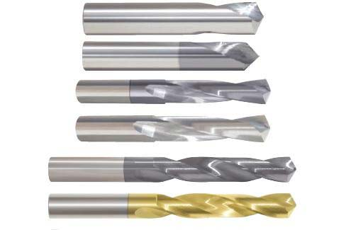 Drills, Carbide Jobber Drill Bits, Carbide Stub Machine Screw Length