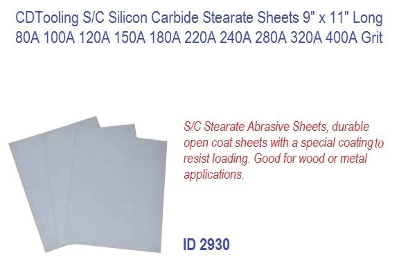 S/C Silicon Carbide Stearate Sheets 9