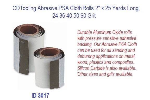 Abrasive PSA Cloth Rolls 2