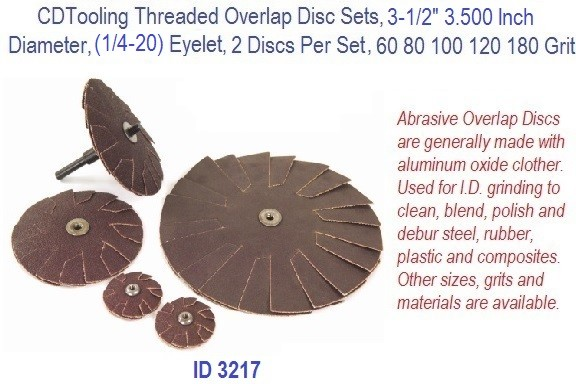 Threaded Overlap Disc Set, 3-1/2